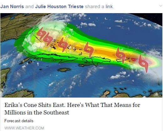 Erika Shits on Florida